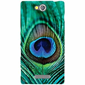 Sony Xperia C Back Cover - Feather Designer Cases