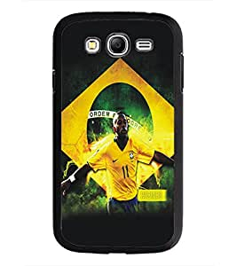 PrintDhaba Sports D-5194 Back Case Cover for SAMSUNG GALAXY GRAND NEO (Multi-Coloured)