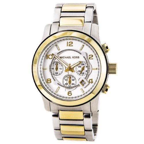 Michael Kors Runway Two Tone Chronograph Men's Watch - MK8283