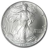 1995 - 1 oz American Silver Eagle .999 Fine Silver Dollar Uncirculated US Mint