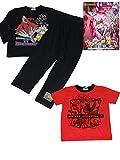 ポケモン(劇場版) キッズ 男児用 男の子用 パジャマ長袖 半袖 ハーフパンツ2トップ スーツ