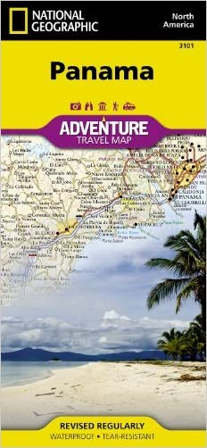 By National Geographic Maps - Adventure - Panama (National Geographic: Adventure Map) (Adventure Map (Numbered)) (12.2.2012)