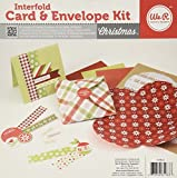 Interfold Card and Envelope Kit Christmas by We R Memory Keepers