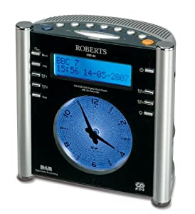 roberts radios gemini digital clock radio with instant record tv. Black Bedroom Furniture Sets. Home Design Ideas