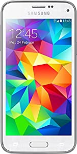 Samsung Galaxy S5 mini G800F Sim Free 4G Capable European Version Smartphone Factory Unlocked Mobile Phone (WHITE)