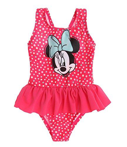 Disney Minnie Costume da bagno - rosa fucsia - 18M