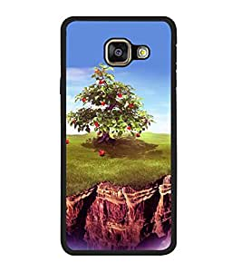 printtech Apple Tree Back Case Cover for Samsung Galaxy A7 (2016) :: Samsung Galaxy A7 (2016) Duos with dual-SIM card slots