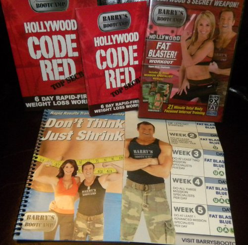 Ordernow Barry S Bootcamp 2 Dvd Set With 6 Day Rapid Fire Weight