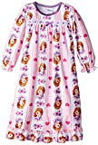 Sofia the First Little Girls'Hearts and Stripe Nightgown