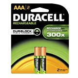 Duracell Rechargeable Aaa Batteries 2 Count (Packaging May Vary)