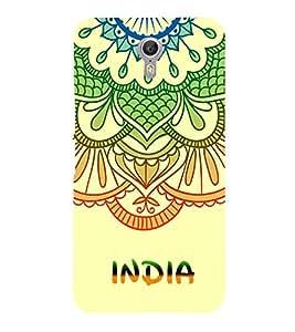 India is Great 3D Hard Polycarbonate Designer Back Case Cover for Lenovo Zuk Z2 Pro