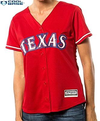 Texas Rangers MLB Women's Cool Base Alternate Jersey Red