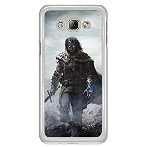 a AND b Designer Printed Mobile Back Cover / Back Case For Samsung Galaxy A8 (SG_A8_1207)