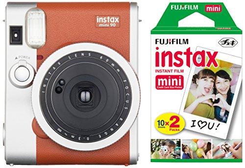 fujifilm-instax-mini-90-instant-camera-with-20-shots-of-film-brown