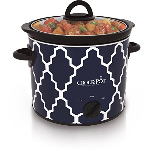 Crock-Pot 4-Quart Manual Slow Cooker, SCR400-BLT-WM1 (Bella Dots Crock Pot compare prices)