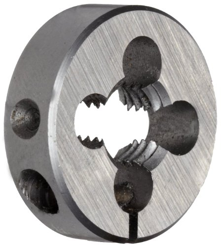 Union Butterfield 2510(UNF) High-Speed Steel Threading Die, Uncoated (Bright) Finish, 13/16