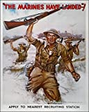 Photographic Print of WWII RECRUITING POSTER. The marines Have Landed! American World from Granger Art on Demand