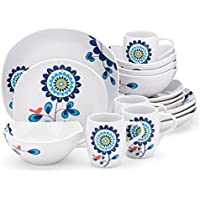 16-Piece Dansk Classic Fjord Tweet Dinnerware Set