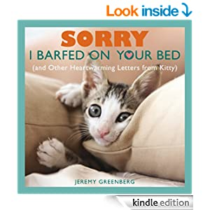 """Sorry I Barfed on Your Bed"" Kindle eBook"