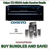 Onkyo TX-NR838 7.2-Channel Network A/V Receiver PLUS Definitive Technology ProCinema 600 5.1 Speaker System (Set of Six Black)