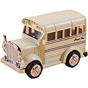 Childrens Toys Mini Metal Car Model The Bus Model Car Toy White