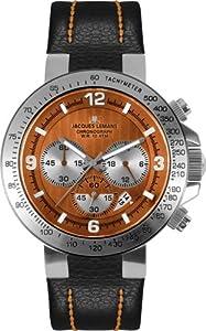 Jacques Lemans Sports Herrenarmbanduhr Powerchrono 2009 1-1485 D
