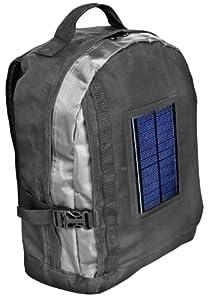 Bresser Rucksack mit integriertem Solarpanel und Akkupack