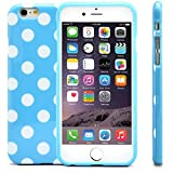 iPhone 6 Case, MagicMobile® Polka Dot Case for iPhone 6 Ultra Slim-Fit Design Smooth Soft TPU Rubber Skin Cover...