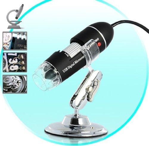 Usb Digital Microscope For Computers (400X, 8 Super-Bright Leds)