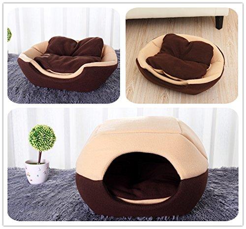 HarukokoroTMDetachable-Dog-House-Dog-Bed-for-Pets-Washable-Mongolian-Yurt-Shaped-S-M-L