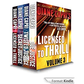 Licensed to Thrill Volume 3: Judge Willa Carson Thrillers: The Hunt For Justice Series (English Edition)
