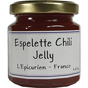 Epicurien Espelette Chili Pepper Jelly 4.4 oz