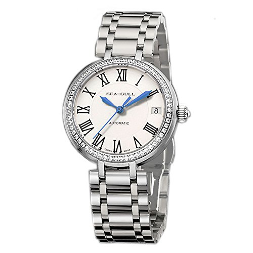 Luxury Brand Seagull Business Automatic Womens Dress Wrist Watch 716.417L