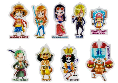 One Piece - Wall Display (9pcs)