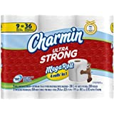 Charmin Ultra Strong Toilet Paper 9 Mega Rolls = 36 Regular Rolls
