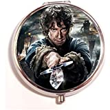 The Battle Of Five Armies Round Fashion Pill Box Medicine Tablet Holder Organizer Case For Pocket Or Purse