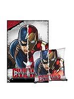 CAPITAN AMERICA Manta Capitán América (Azul)
