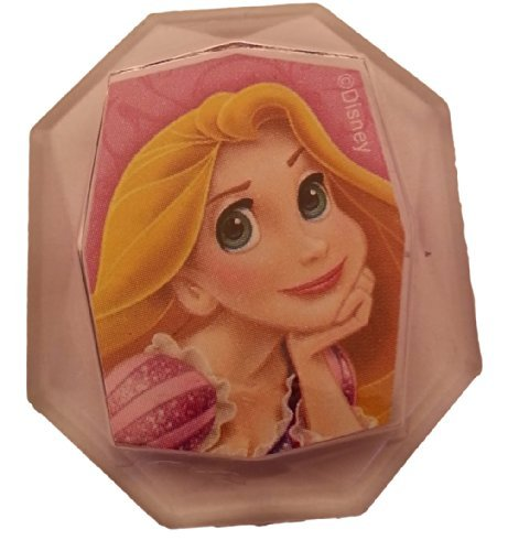 Disney Princess Gemstone Cupcake Topper Ring- Rapunzel - Set of 12