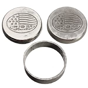 Water & Wood Dynamic Coins Self Working Moving Close Up Magic Trick Party Show Illusion