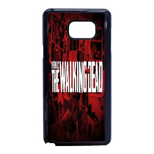Personalised Samsung Galaxy Note 5 Full Wrap Printed Plastic Phone Case The Walking Dead