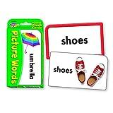 Trend Enterprises ポケットサイズ フラッシュカード(子供向け英単語 学習カード) 写真で学ぶことば