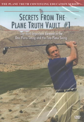Secrets From The Plane Truth Vault #1: The Most Important Element in the One-Plane Swing and the Two-Plane Swing