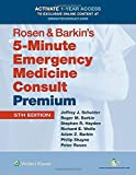 img - for Rosen & Barkin's 5-Minute Emergency Medicine Consult Premium Edition: 1-year Enhanced Online Access (Fifth, Premium Edition) [Hardcover] book / textbook / text book