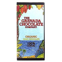 Grenada Chocolate Company 100% Organic Dark Chocolate