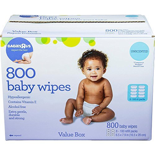 Babies R Us Unscented Value Box of Wipes - 800 Count - 1