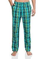 Schiesser Pantalón de Pijama (Azul)