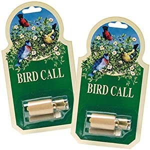 Quality Bird Call Whistle with rosin (price is for 2 individually packaged bird calls). Audubon