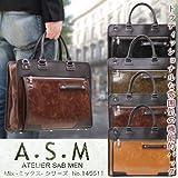 va-145511_ike A.S.M( アトリエサブ ) 145511 ミックスシリーズ メンズブリーフケース合皮送料 Amazon限定 オリジナルモデル