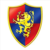 Beistle 54325 Medieval Crest Cutout, 16-Inch