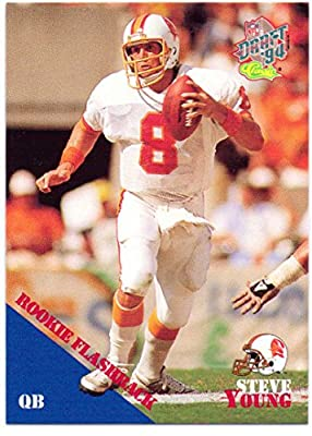 Steve Young 1994 Classic Flashback #97 - San Francisco 49ers, Tampa Bay Buccaneers